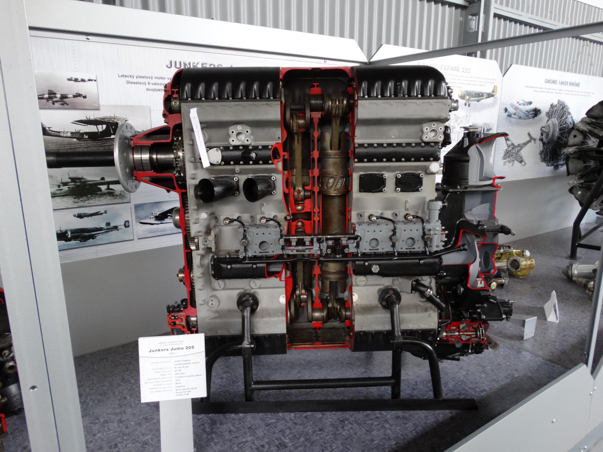 Авиационен дизелов двигател Jumo 205