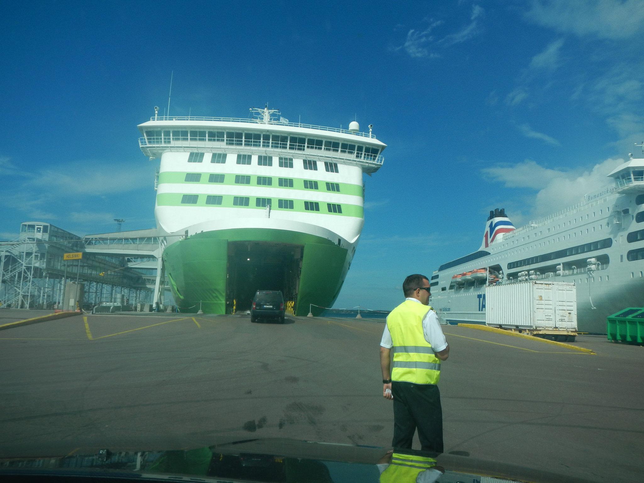 Фериботно пристанище Талин, Естония