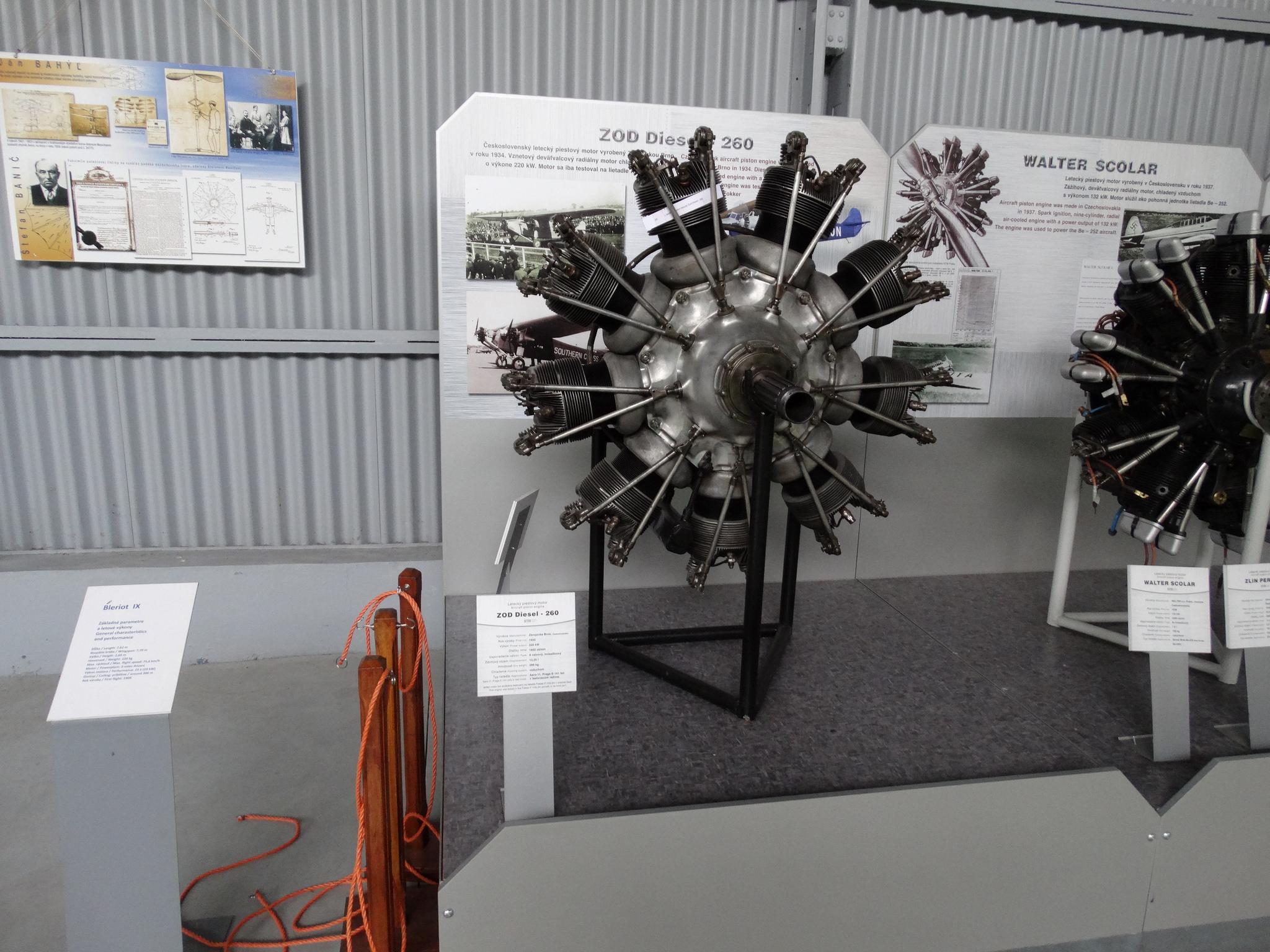 Дизелов авиационен двигател ZOD Diesel 206