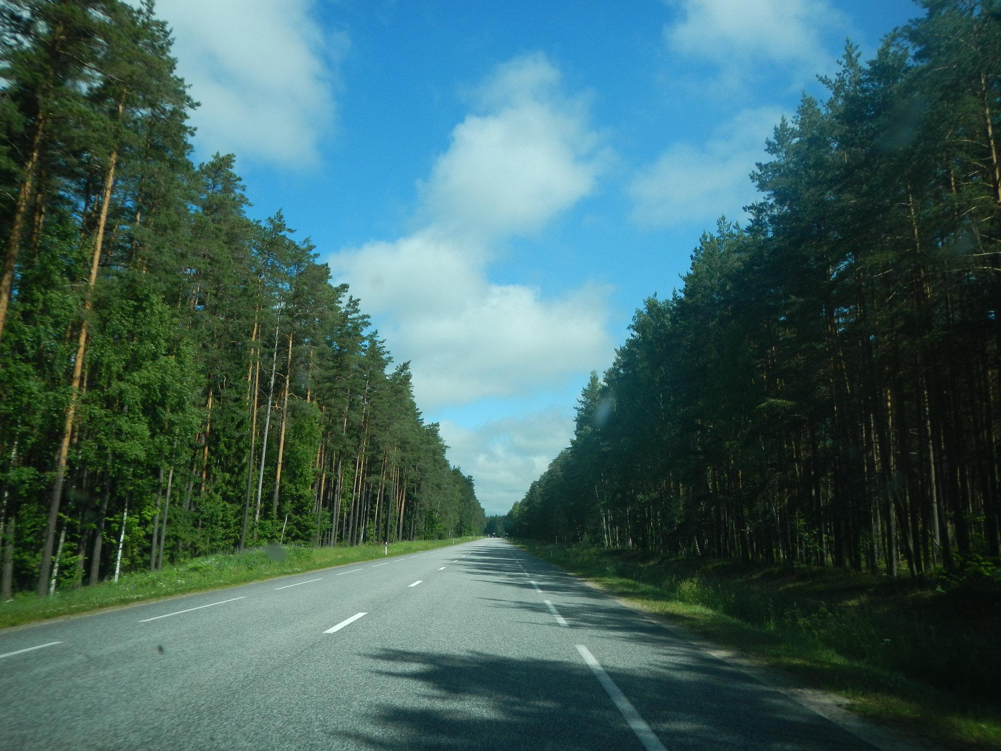 Път в Латвия