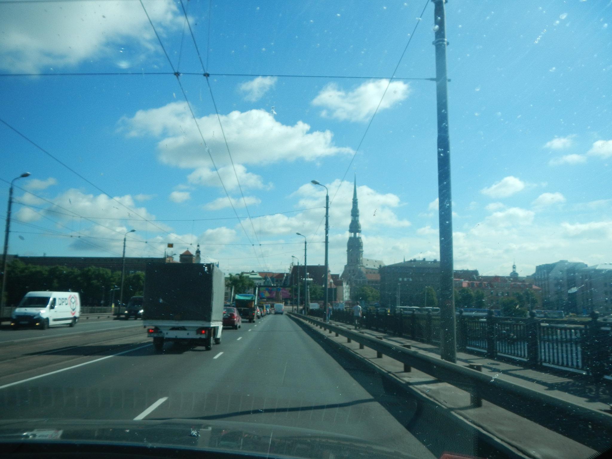 Мост над Даугава, Рига