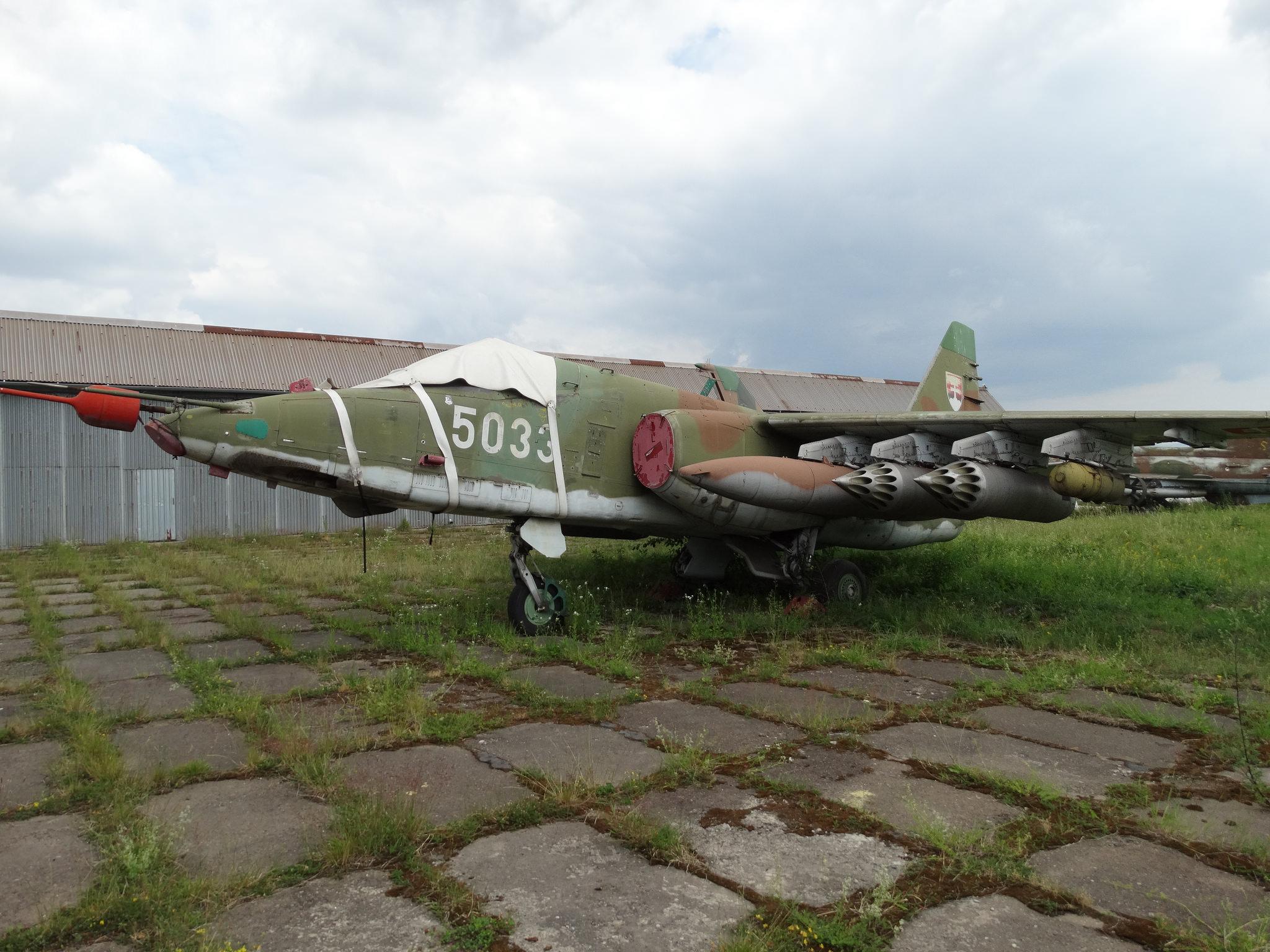 Щурмови самолет СУ 25